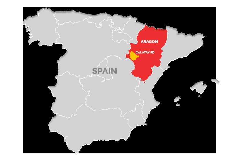 Calatayud Spain Map.Calatayud Designations Of Origin Wines Of Garnacha